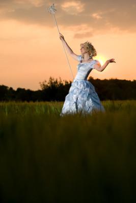 Glinda - Wicked - Bubbledress
