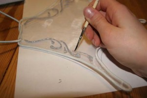 Fairy wings - making lines neater