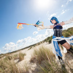 Aqua cosplay Kingdom hearts birth by sleep