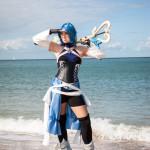 Aqua cosplay Kingdom hearts birth by sleep